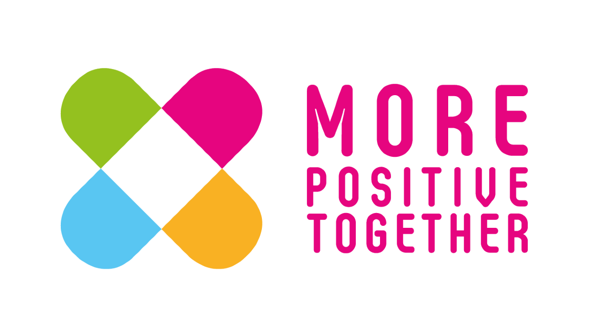 More positive together logo